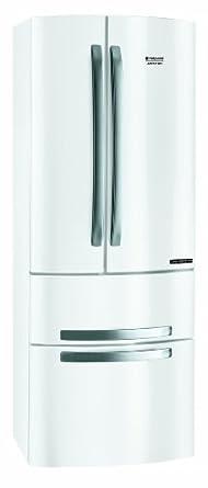 """Hotpoint 4D AA W/HA Side-by-Side / A+ / 190 cm Höhe / 0.95 kWh / 290 L Kühlteil / 90 L Gefrierteil / NO FROST / Side by Side""""- Feeling in nur 70 cm / weiß"""