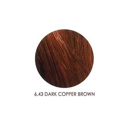 Demi Color 6.43 Dark Copper Brown : Chemical Hair Dyes : Beauty