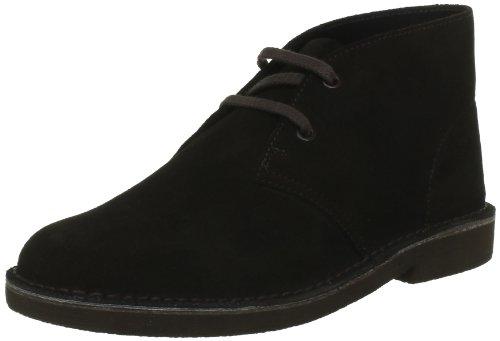 Clarks Originals Desert Boots, Stivaletti ragazzo, Marrone (Braun (Brown Sde)), 32