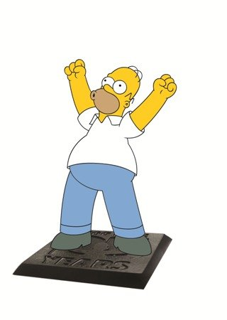 """Simpsons The Homer 2.75"""" PVC Action Figure"""
