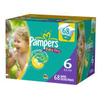 Pampers - Baby Dry Diapers, Super Pack (Choose Your Size) (00037000818984)