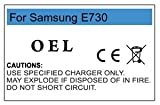 Battery pack for Samsung E720/E728 BST3408DE by OEL