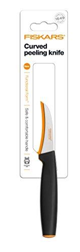 Fiskars FunctionalForm courbé Couteau à Éplucher 18 cm