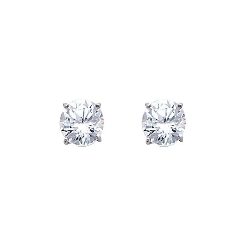 14k-White-Gold-5mm-Round-CZ-Solitaire-Basket-Setting-Stud-Earrings-with-Screw-back