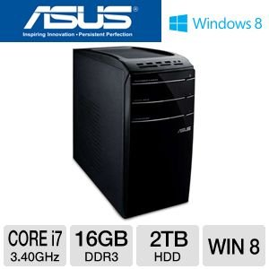 Asus CM6870-US012S 10.1-Inch Desktop