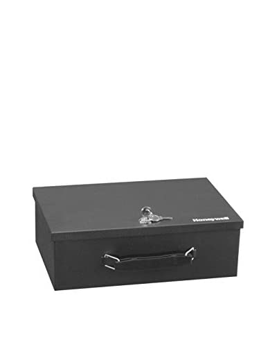 Honeywell Cash & Security Box, Black