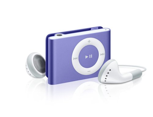 Apple iPod shuffle 1 GB Purple (2nd Generation)