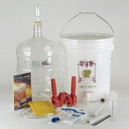 Gold Complete Beer Equipment Kit (K6pet) with 6 Gallon Better Bottle