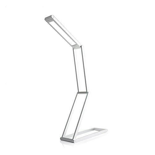 Folding LED lampada dimmer fine , silver