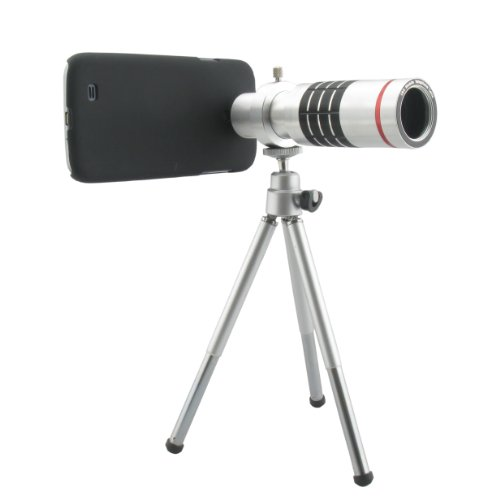 New 18X Optical Zoom Aluminum Telescope Camera Lens With Case Cover For Samsung Galaxy S3 I9300