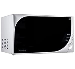 Daewoo KOR6Q8GSL 20 Litre 800 watt Solo Microwave Oven, Silver
