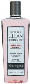 Neutrogena Clean Replenishing Shampoo, Moisturizing, 10.1 Ounce