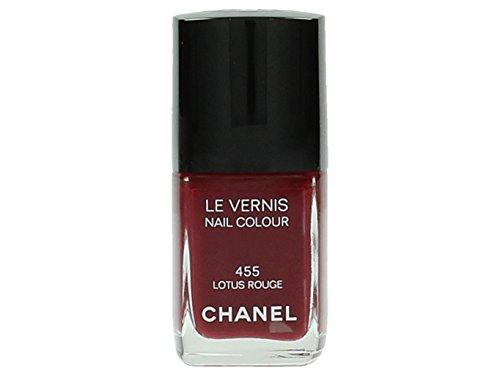 Chanel le Vernis Nagellack 455 - Lotus rot - Damen, 1er Pack (1 x 13 ml)