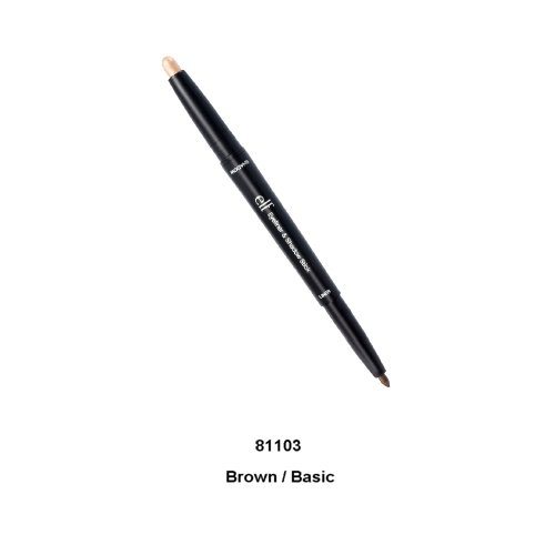 e.l.f. Studio Eyeliner & Shadow Stick Brown Basic