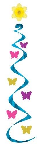 Beistle 57128 3-Pack Butterfly Whirls, 30-Inch - 1
