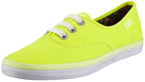 Keds Rookie Neon Trainers Womens Yellow Gelb (neon yellow normal) Size: 7 (41 EU)