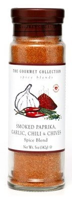 The Gourmet Collection, Smoked Paprika, Garlic, Chili & Chives Spice Blend (4.7 oz) (Chili Spice Blend compare prices)