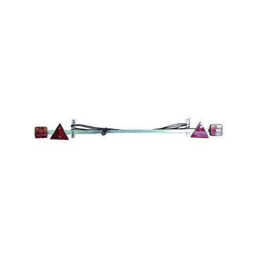 Complete light bar, adjustable from 1.4 to 2.10 m Sodise 16127