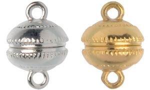 GLOREX Magnetverschluss, Durchmesser: 12 mm, gold