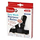 Clippasafe Easy Wash Webbing Baby Harness Black