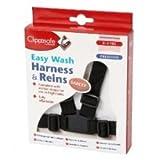 Clippasafe Easy Wash Webbing Baby Harness Black
