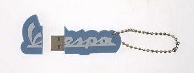 """PIAGGIO """"2GB Vespa flash drive light blue, by PIAGGIO"""
