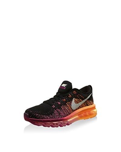 Nike Sneaker W Flyknit Max [Nero/Fucsia/Arancione]