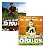 Grow Your Own Drugs 2 Books Pack Set RRP £33.98 (Collection includes Easy Recipes for Natural Remedies and Beauty Treats and A Year with James Wong