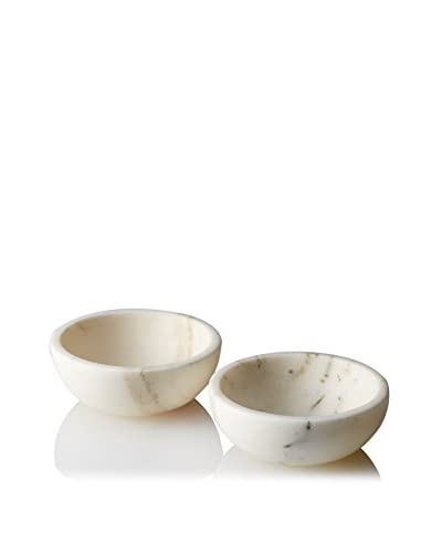 Shiraleah Set of 2 Piedmont Dipping Bowls, White
