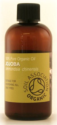100ml Jojoba Golden Oil, Certified Organic - 100% Pure Cold Pressed