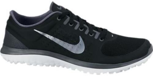 quality design ec812 c6ee4 Nike Mens FS Lite Run 12 5 M US Black Dark Grey Wolf Grey ...