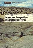 Issues and Perspectives in Landscape Ecology (Cambridge Studies in Landscape Ecology)