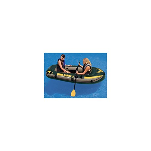 Intex Seahawk 2 Inflatable Boat Set With Oars And Air Pump   68347EP (Intex Seahawk Ii Boat Set compare prices)