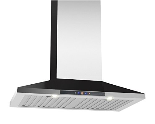 Ancona Chef WPC430 Wall-Mounted Pyramid Style Convertible Range Hood, 30-Inch, Stainless Steel (Wall Mounted Oven compare prices)