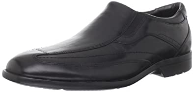 Rockport Men's Business Lite Slip-On,Black,8 XW US