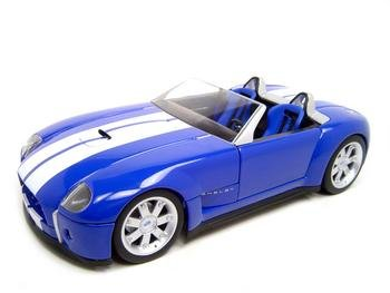 Buy SHELBY COBRA CONCEPT BLUE 1:18 DIECAST MODEL