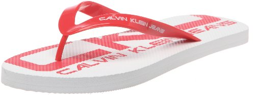 Calvin Klein Jeans - Infradito SMITH JELLY, Donna, Rosso (Rouge), XS