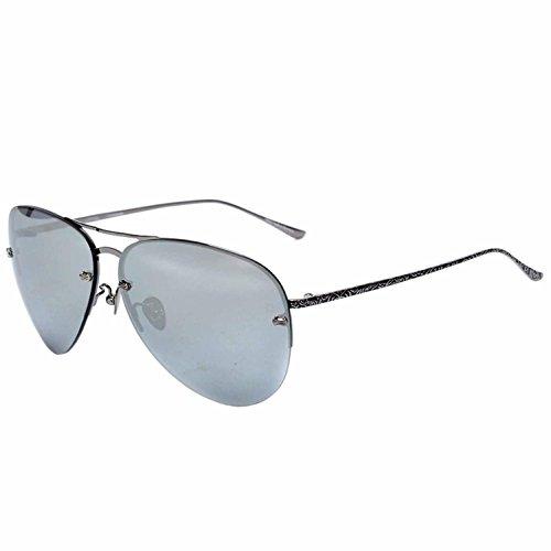 XD-IT-Pellicola a colori Ladies riflettente rana specchio senza cornice gli occhiali da sole , gun frame mercury film