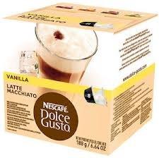 Nescafe Dolce Gusto Vanilla Latte Macchiato Pack of 6, 6x16 Pods
