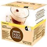 Nescafe Dolce Gusto Vanilla Latte Macchiato Pack of 5, 5x16 Pods