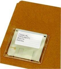 Cardinal 21700 HOLDit Data Disk Pocket, 3.5 in , 10 per BG