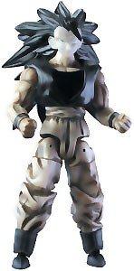 Picture of Jakks Pacific Dragon Ball Z Action Figure: Bandai Series 5 SS3 Goku B&W (B003SZJVHW) (Dragon Ball Action Figures)
