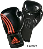 Gungfu Adidas Shadow Pro Boxing Gloves – Color: Black/Red, Size: 12 oz.