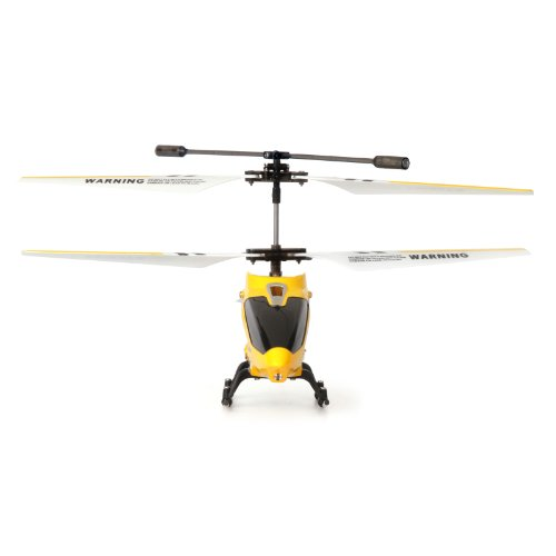 3 Channel RC Helicopter Gyro Yellow Remote Control Flying ...