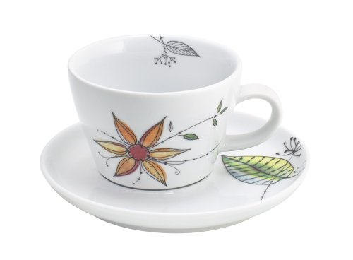 Kahla Five Senses Cappuccino Cup 8-1/2 Oz, Wonderland Color, 1 Piece