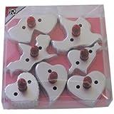 R & M Old Fashioned Valentine 7 Piece Cookie Cutter Set
