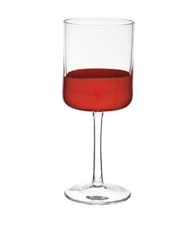 Bitossi Thuis Wine Glass Set van 6 rode vlek Collection