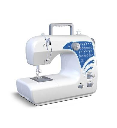 New Michley Electronics Desktop Sewing Machine 12 Built-In Stitch Patterns Adjustable Stitch Width