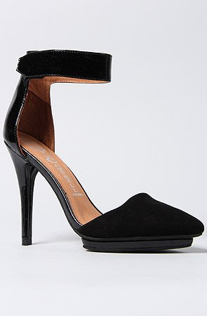 Jeffrey Campbell The Solitaire Shoe,9,Black