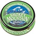 Smokey Mountain Snuff - Tobacco & Nicotine Free - Wintergreen Pouches